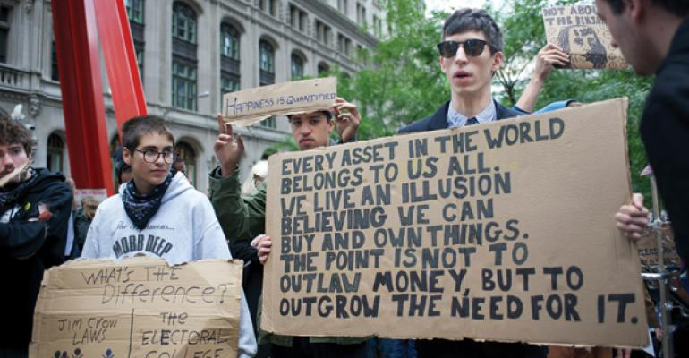 """Occupy Wall Streeters in NYC Are """"Children of the Elite"""""""