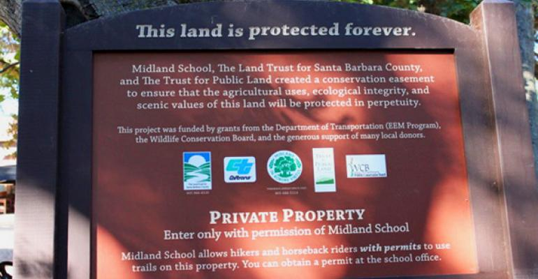 Conservation Easements: Not  So Easy
