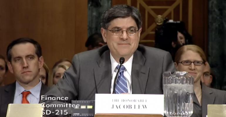 Coming Up Short: Lew Dodges Retirement Saving Woes