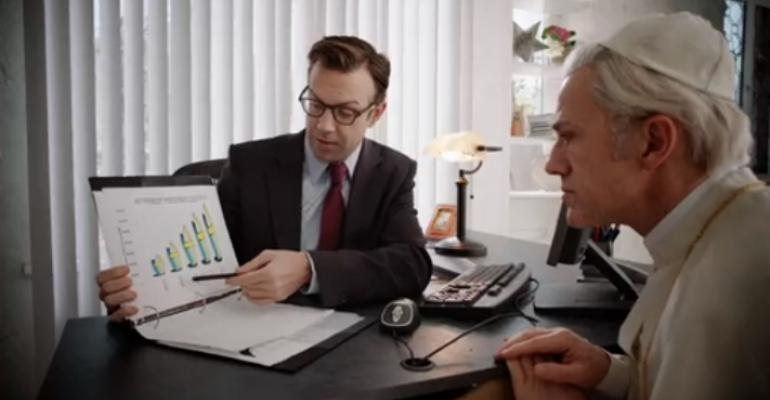 Via SNL: What If the Pope Went to a Retirement Advisor