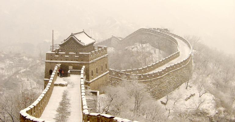 Tearing Down The Great Wall