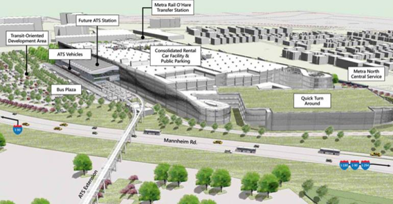 Chicago Examines $884M Transit Hub Plan for O'Hare