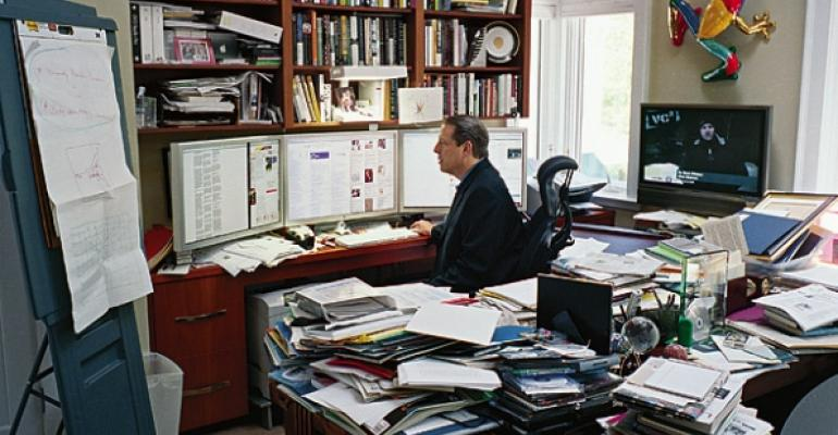 Al Gore office photo by Stephan Didac