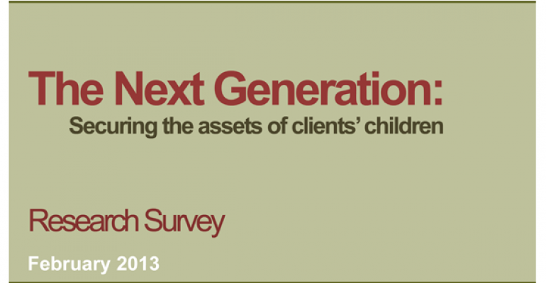 The Next Generation: Securing the Assets of Clients' Children