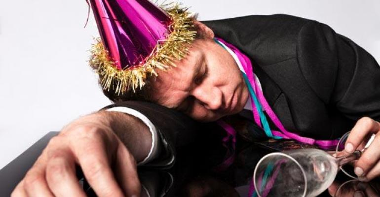 The Blotter Report: Party's Over