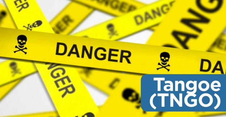 Danger Zone 10/25/13: Tangoe (TNGO)