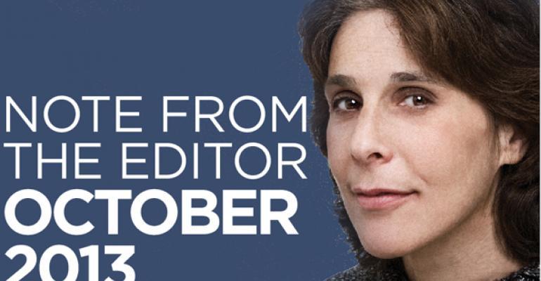 Editor's Note: October 2013