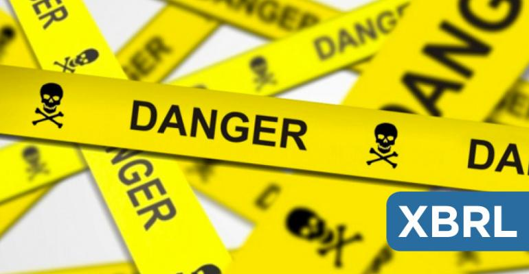 Danger Zone: XBRL (eXtensible Business Reporting Language)