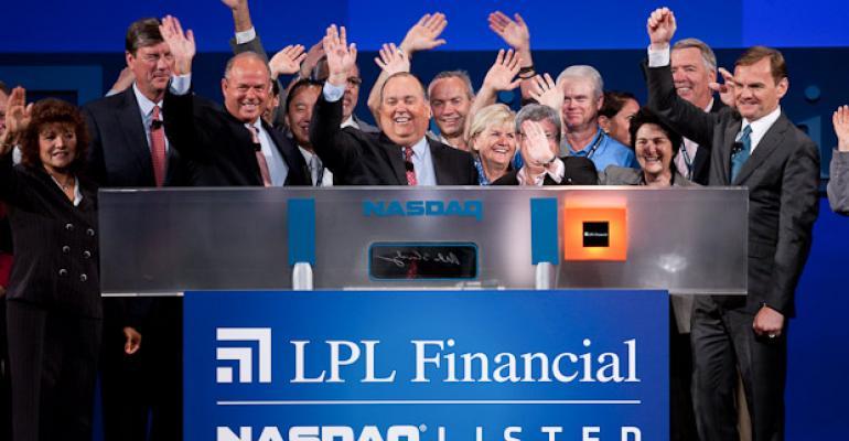 LPL Picks Up 40-Advisor Firm