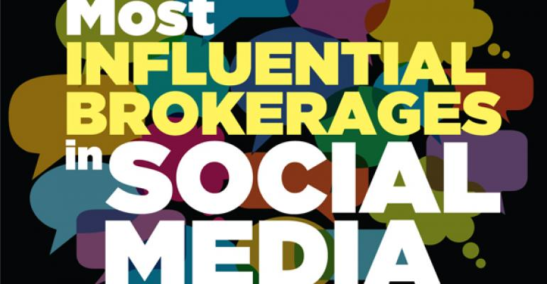 Most Influential Brokerages in Social Media