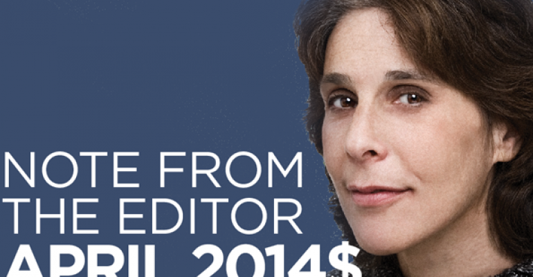 Editor's Note: April 2014