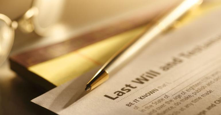 Notes Found After Decedent's Death Can't be a Valid Will