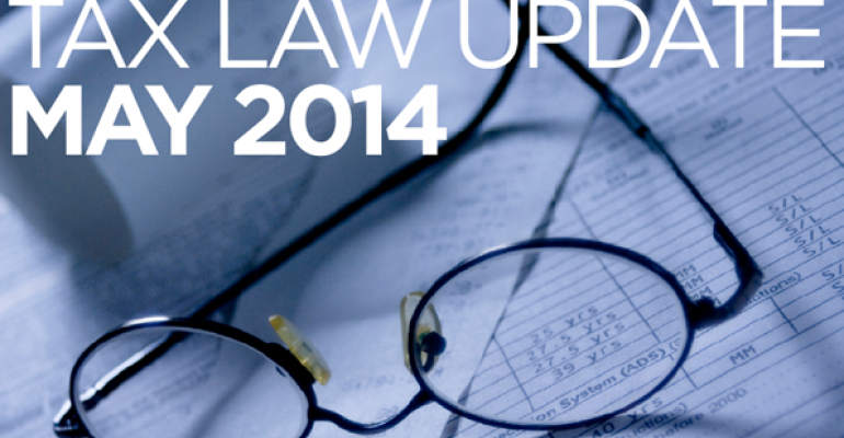 Tax Law Update: May 2014