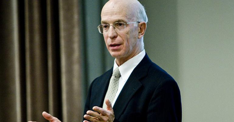 Princeton economist and former Federal Reserve Vice Chair Alan Blinder