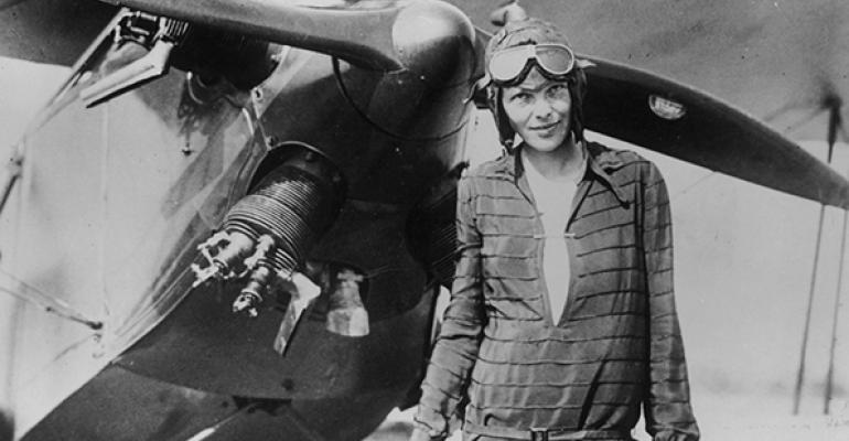 Amelia Earhart's Pre-nup