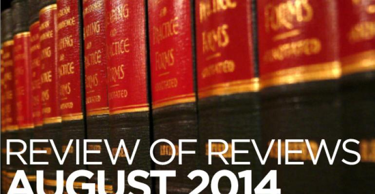 """Review of Reviews: """"The Trust as More than a Common Law Creature,"""" Ohio N. U. L. Rev. (2014 forthcoming)"""