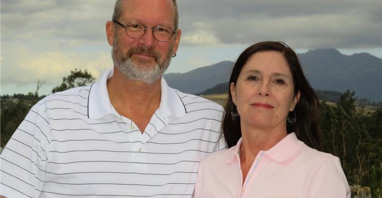 Living abroad experts Dan Prescher and Suzan Haskins