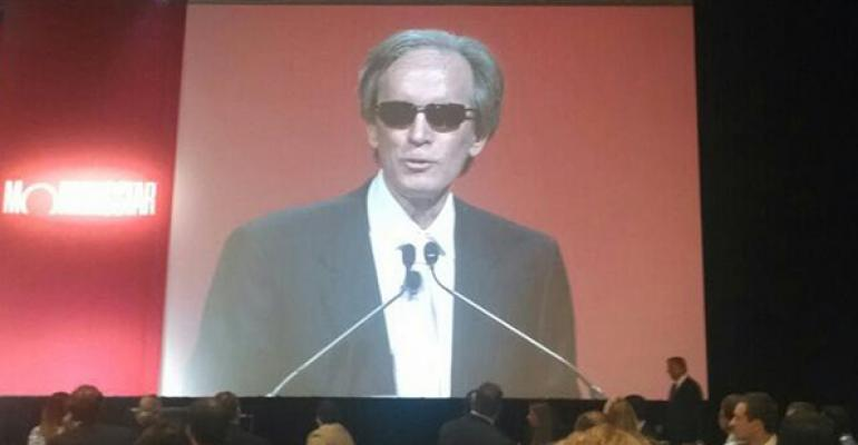 Bill Gross gave the keynote address at the Morningstar Investment Conference in June
