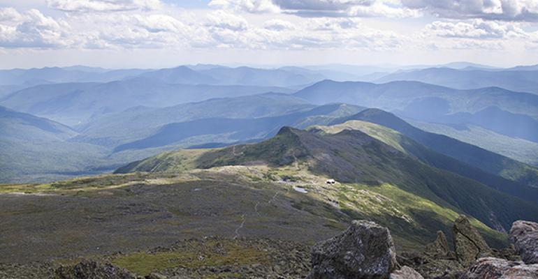 Mount Washington and the Applachian Trail
