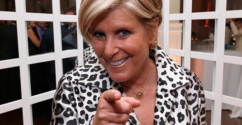 Suze Orman Should Know Better