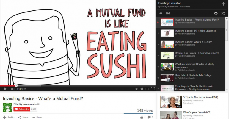 Fund Families On YouTube: What Works, And What Doesn't