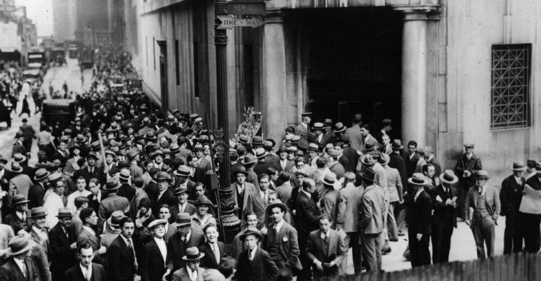 Stocks are Partying Like It's 1929, 2000 and 2007