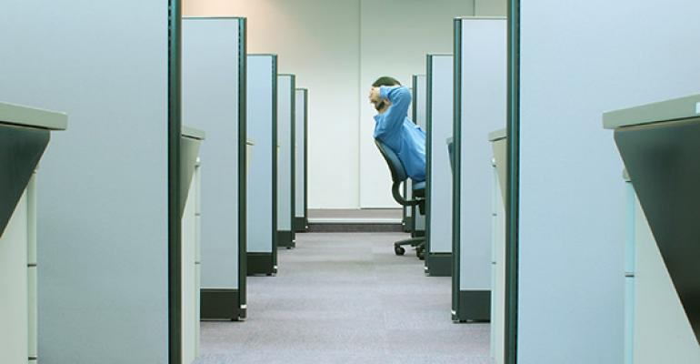 A Financial Advisor at Work
