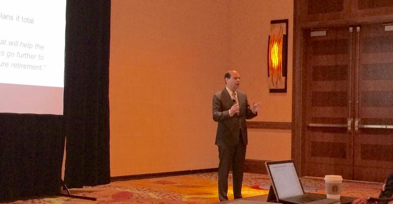 Andy Friedman of the Washington Update speaks at FSI OneVoice on Tuesday