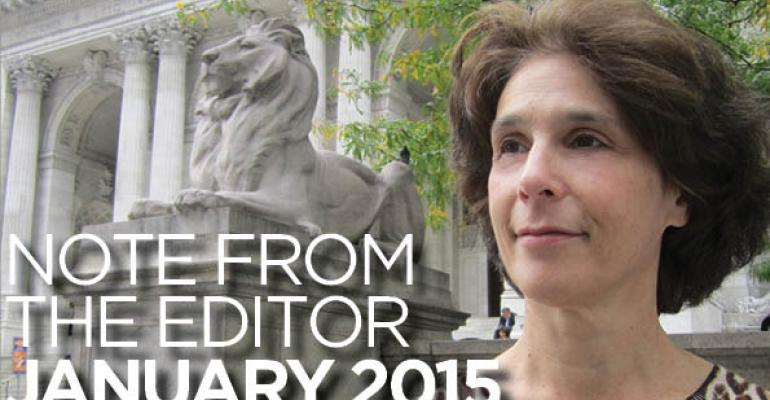 Note From The Editor: February 2015