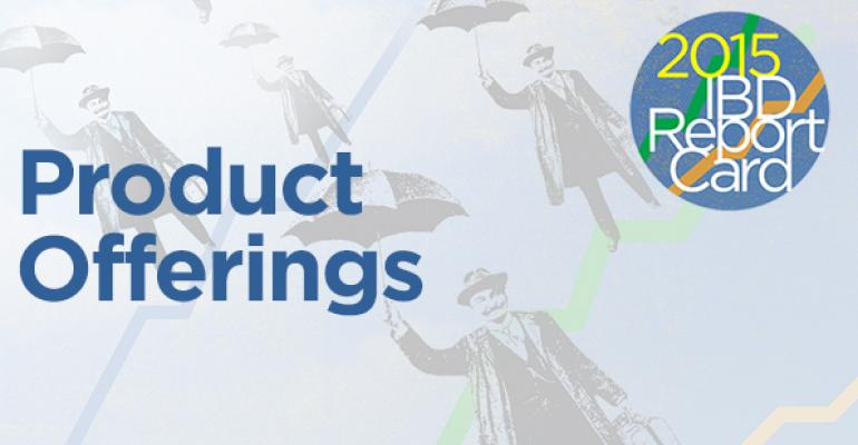 2015 IBD Report Card: Product Offerings
