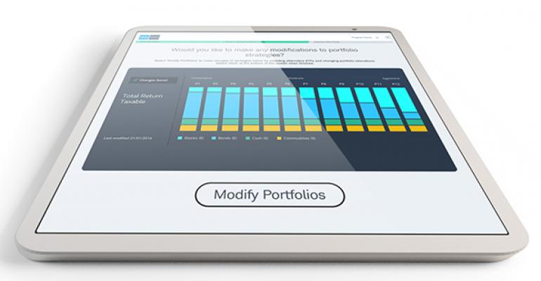 Institutional Intelligent Portfolios integrates with Schwab Advisor Center the website that provides custody trading and support services to work with advisorsrsquo existing workflow