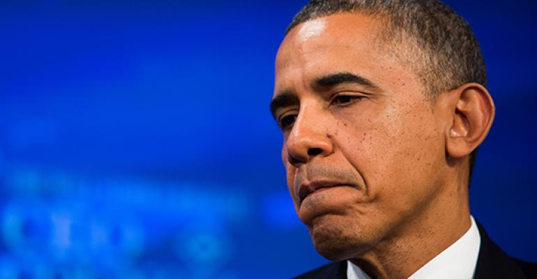 Obama Struggles with Wall Street to Woo Democrats over Broker Rules