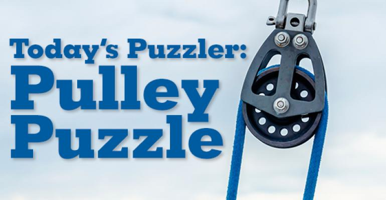 The Puzzler #47 Part 1: Pulley Puzzle