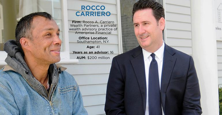 Advisors With Heart Awards 2015: Rocco Carriero