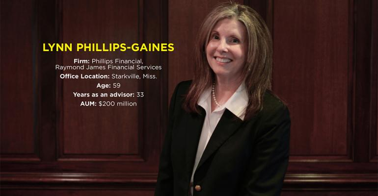 Advisors With Heart Awards 2015: Lynn Phillips-Gaines
