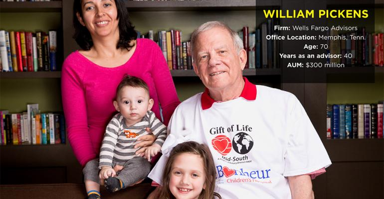 Advisors With Heart Awards 2015: William Pickens