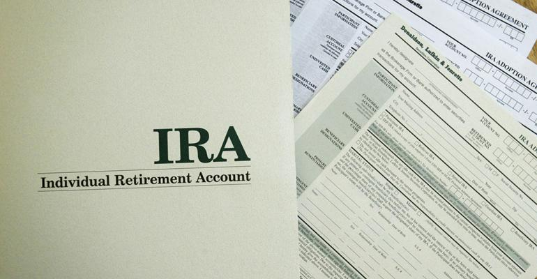 IRA Distributions Includible in Gross Income