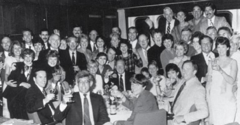 Photo from Raymond James 1975 national conference courtesy of the firm39s archives