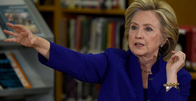 Hillary Clinton and the Wealth Manager Conundrum