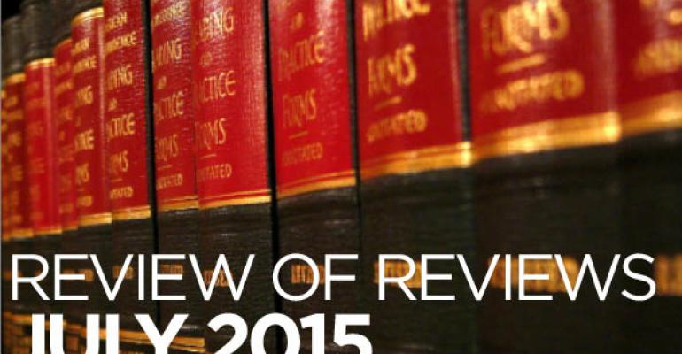 "Review of Reviews: ""A Taxonomy of Testamentary Intent,"" 25 Geo. Mason L. Rev. (forthcoming 2016)"