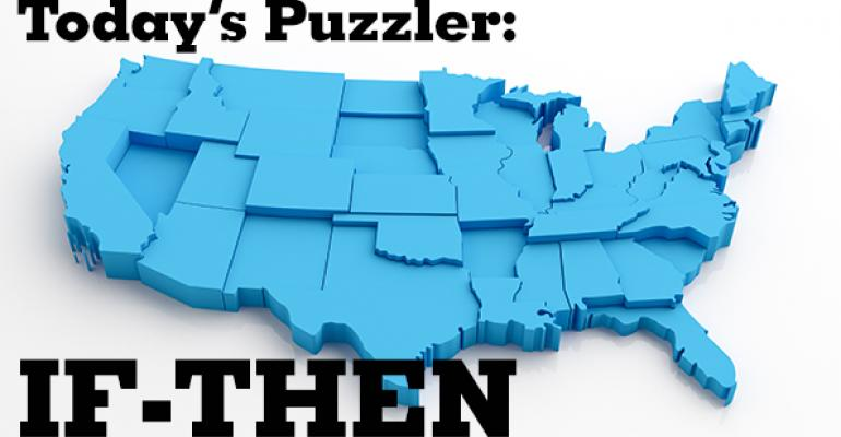 The Puzzler # 49: If-Then