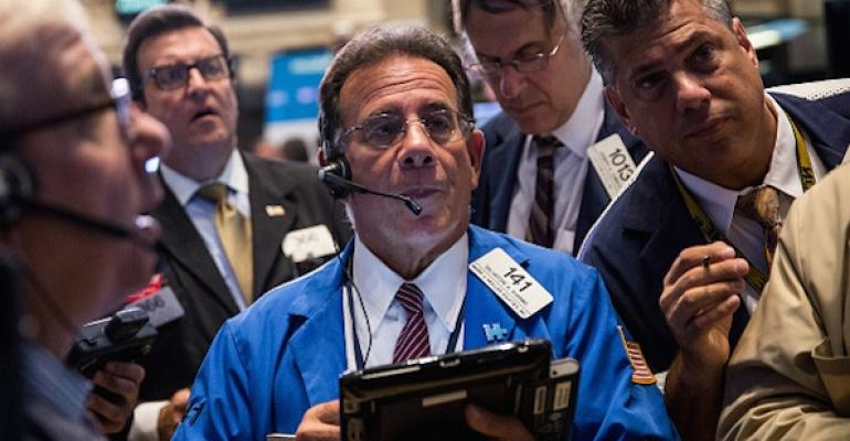 Advisors—and Clients—Aren't Rattled by Market Plunge