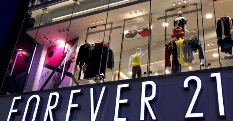 Forever 21 Evaluates the Size of its Store Prototype