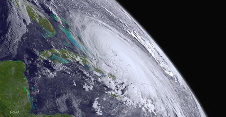 As Hurricane Joaquin Moves, So Moves the Market