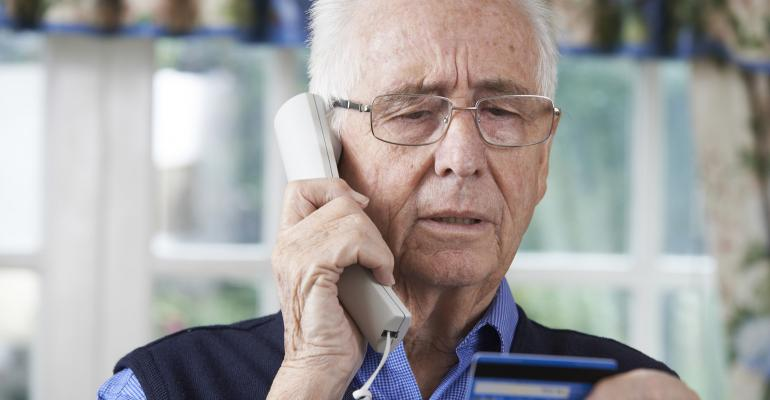 Never ever give out any personal information specifically credit card numbers over the phone