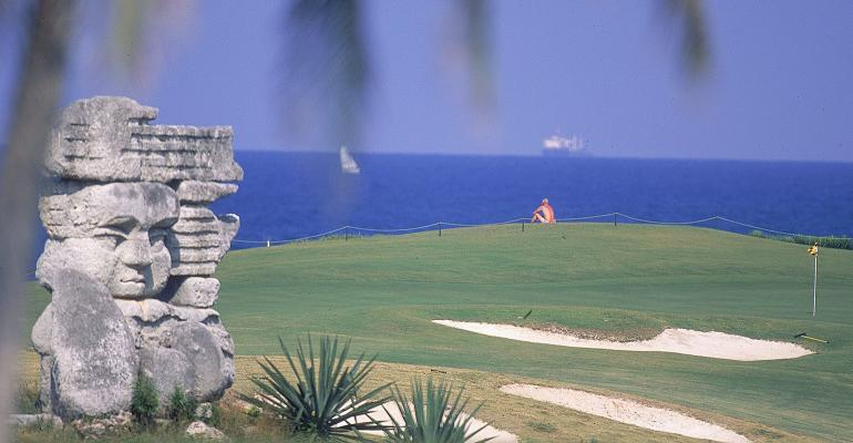The Varedero Golf Club is one of only two golf courses right now in Cuba