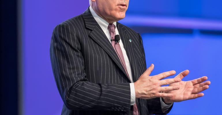 The Carlyle Group founder David Rubenstein spoke at the CFA Institute Conference in Montreal on Tuesday