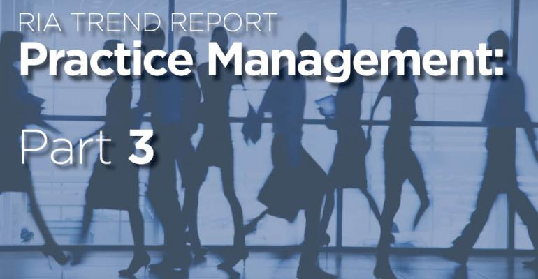 RIA Trend Report 2016: Trends in Services Offered: 2013-2015