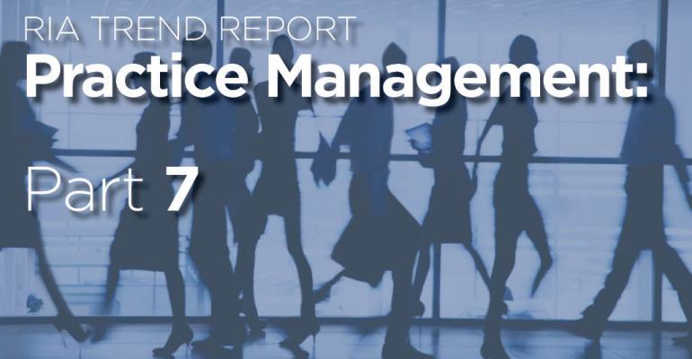 RIA Trend Report 2016: Average Advisors' Written Plans and Procedures