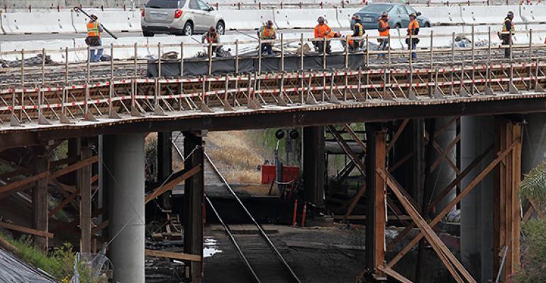 bridge road work